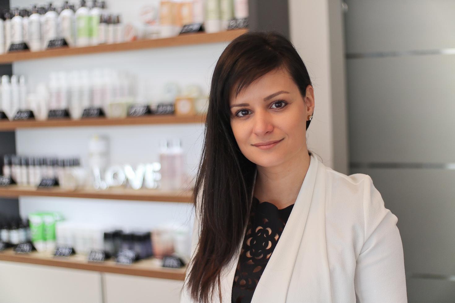 Dr. Mester Ildikó Virág nyerte el az év női vállalkozója címet Fotó: Horváth Balázs