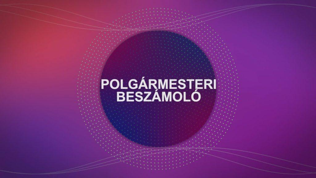 Polgármesteri tájékoztató 2021.02.05.