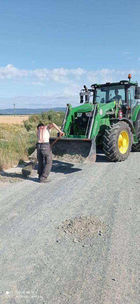 Mezőgazdasági útjavítások!