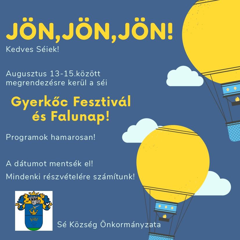 Séi Gyerkőc Fesztivál és Falunap